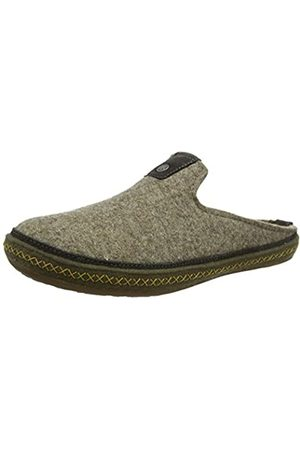 Haflinger Unisex Adults' Everest Ontario Open Back Slippers, (Torf 550)