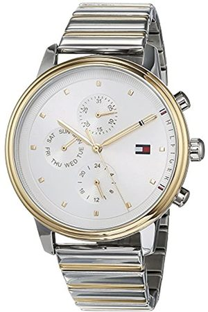 Tommy Hilfiger Unisex-Adult Multi dial Quartz Watch with Stainless Steel Strap 1781908