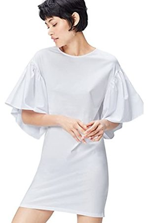 FIND Women's Party Dress with Volume Sleeve