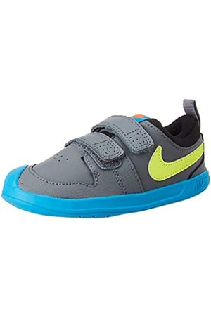 Nike Unisex Babies' Pico 5 Gymnastics Shoes, Smoke Gray/Lemon Venom/Laser