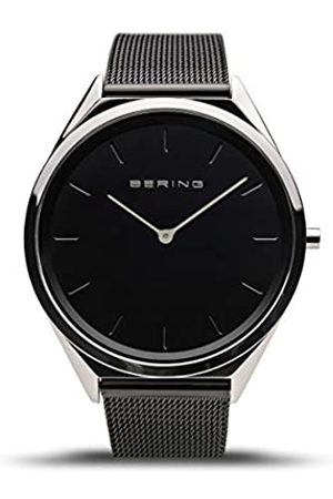 Bering Unisex Analogue Quartz Watch with Stainless Steel Strap 17039-102