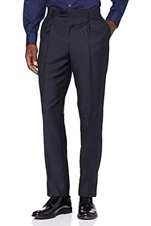 FIND Amazon Brand - AMZ218 Suit Trousers (Navy)