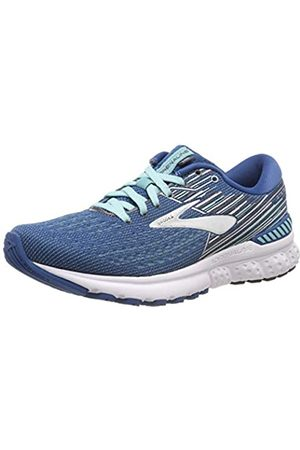 Brooks Women's Adrenaline Gts 19 Running Shoes, ( /Aqua/Ebony 417)