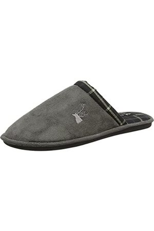 Lotus Men's Benton Open Back Slippers