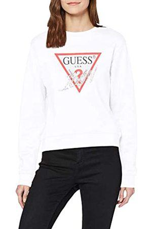 Guess Women's Basic Triangle Fleec Hooded Sweatshirt