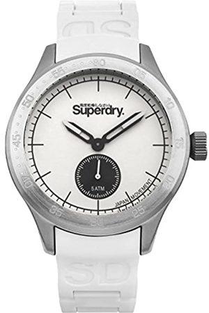 Superdry Men's Analog Quartz Watch with Silicone Strap SYG212W