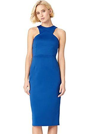 TRUTH & FABLE Amazon Brand - Women's Midi Bodycon Dress, 12