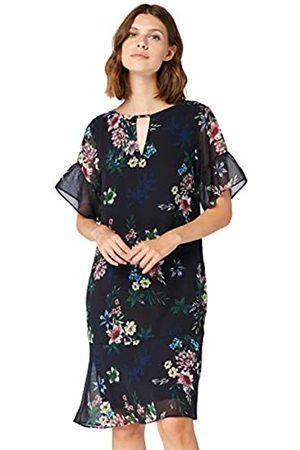 TRUTH & FABLE Amazon Brand - Women's Midi Chiffon A-Line Dress, 20