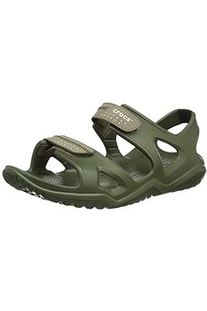 Crocs Men's Swiftwater River Sandal M, (Army /Khaki 354)