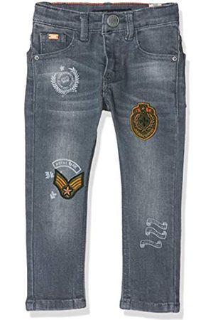 IKKS Boy's Denim Skinny Patchs Jeans