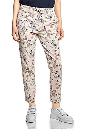 CECIL Women's Chelsea Loose Fit Trousers with Flower Print