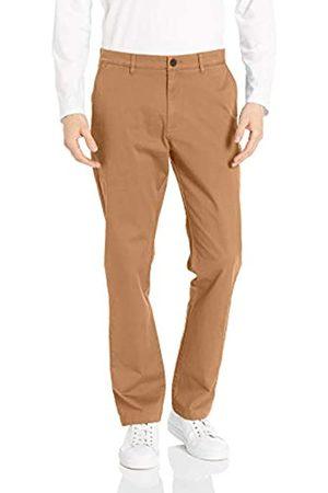 Goodthreads Amazon Brand - Men's Standard Athletic-Fit Washed Chino, British Khaki