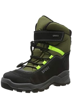 Primigi Boys' Prw Gore-tex 43962 Snow Boots, (Nero/Oliva/Nero 4396200)