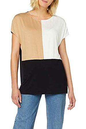 Dorothy Perkins Women's Ac:Camel Col Block T T - Shirt