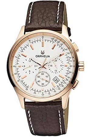 ORPHELIA Mens Multi Dial Quartz Watch with Leather Strap OR81703