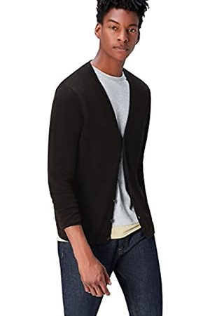 find. Amazon Brand - Men's Cardigan in Cotton Button Down