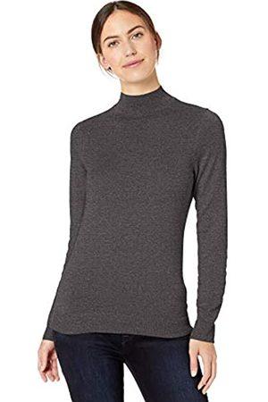 Amazon Essentials Lightweight Mockneck Sweater Charcoal Heather