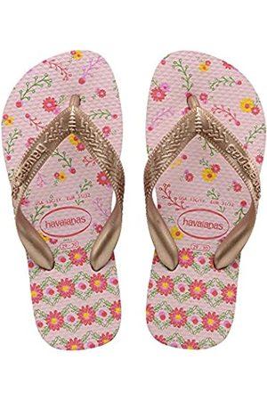 Havaianas Girls' Flores Flip Flops