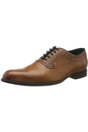 Geox Men's U IACOPO A Oxfords, (Dk Cognac C6026)