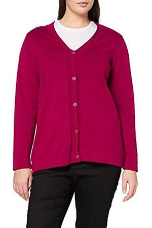 Ulla Popken Women's V-Cardigan, Knopfleiste Sweater