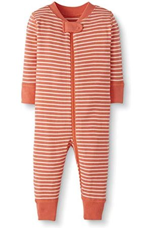 Moon and Back by Hanna Andersson Moon and Back One Piece Footless Pajamas Sleepers, Coral