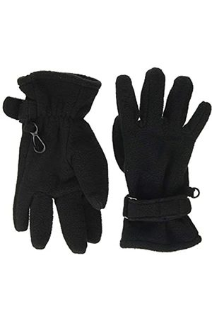 D-Generation Fingerhandschuhe Fleece Gloves, -Schwarz (Caviar 1010)