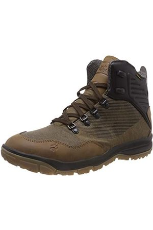 Jack Wolfskin Men's Seven Wonders Texapore Mid M High Rise Hiking Shoes, (Dark Wood 5690)