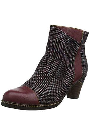 LAURA VITA Women's Alcizeeo 06 Ankle Boots, (Wine Wine)