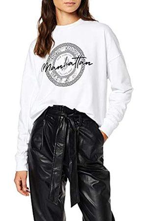 New Look Women's P Manhattan FOIL Sweat Sweatshirt