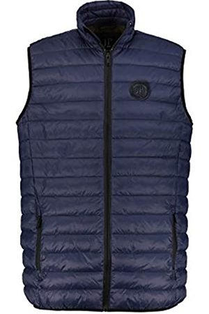 JP 1880 Men's Big & Tall Quilted West Navy XXXXX-Large 726955 76-5XL