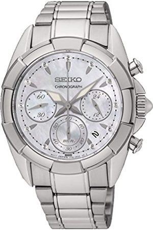 Seiko Women's Chronograph Quartz Watch with Stainless Steel Strap SRW807P1