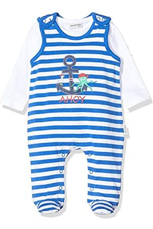 Salt & Pepper Baby Boys' Gestreift Mit Anker Druck Footies
