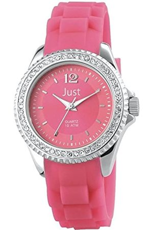 Just Watches Ladies 'Watch XS Analogue Quartz Rubber ~ 48 S3858 Pi