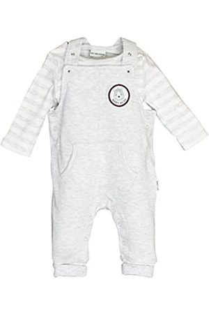 Salt & Pepper Salt and Pepper Baby Boys' NB Playsuit Bear uni Tasche Footies