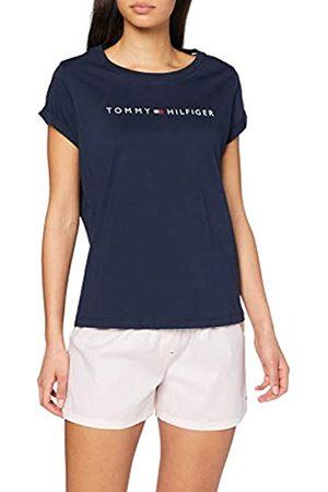 Tommy Hilfiger Women's SS Short Set Woven Pyjama