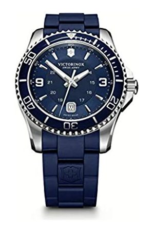 Victorinox Swiss Army Men's Watch XL Analogue Rubber Quartz 241603 Maverick
