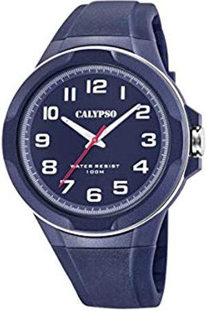 Calypso Mens Analogue Quartz Watch with Plastic Strap K5781/3