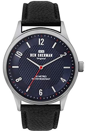 Ben Sherman Mens Analogue Classic Quartz Watch with Leather Strap WB025UB