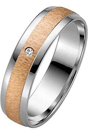 Trauringe Liebe hoch zwei 333 8 Carat (333) 2 Colour Diamond