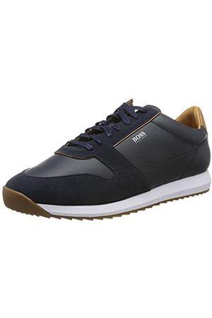 HUGO BOSS Men's Sonic_Runn_ltsd Low-Top Sneakers, (Navy 401)