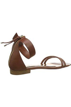 Ted Baker London Ted Baker Women's KELTRA Ankle Strap Sandals, (Tan Tan)