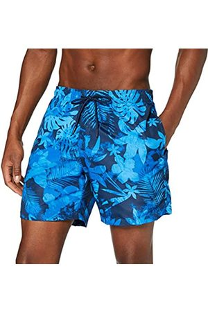 Urban classics Men's Pattern Swim Shorts Trunks