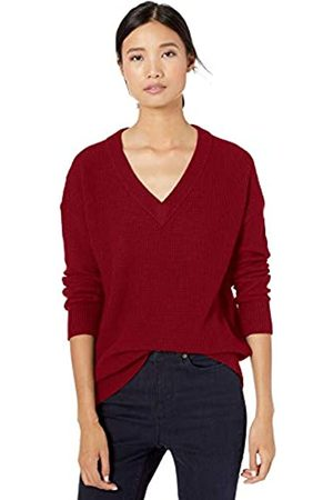 Goodthreads Wool Blend Thermal Stitch V-Neck Sweater Pullover
