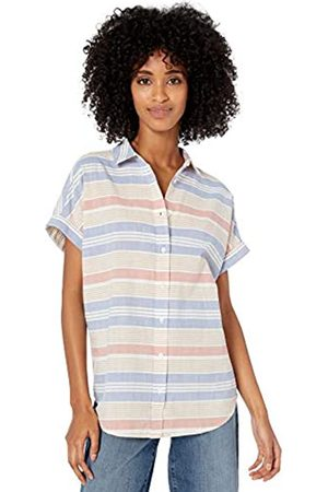 Goodthreads Washed Cotton Short-Sleeve Shirt / Awning Stripe