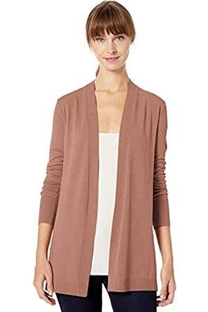 Lark & Ro Lightweight Long Sleeve Mid-Length Cardigan Sweater