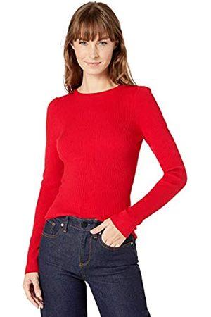 Lark & Ro Ribbed Puff Sleeve Sweater Haute