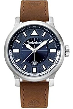 Timberland Mens Analogue Classic Quartz Watch with Leather Strap 15248JS/03