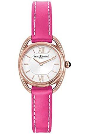 Saint Honoré Women's Analogue Quartz Watch with Leather Strap 7210268AIR-PIN