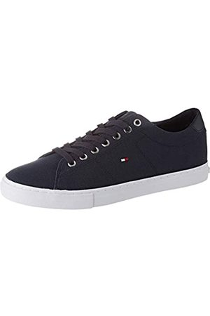 Tommy Hilfiger Men's Seasonal Textile Low-Top Sneakers, (Desert Sky Dw5)