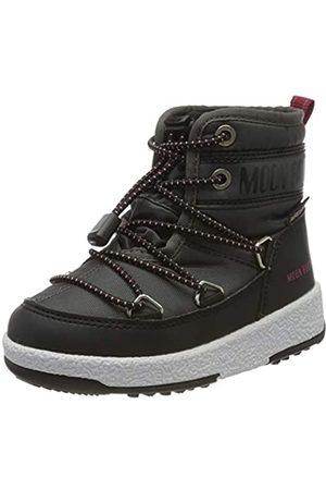 Moon-boot Boys Jr Mid Wp Snow Boots, (Grigio 004)